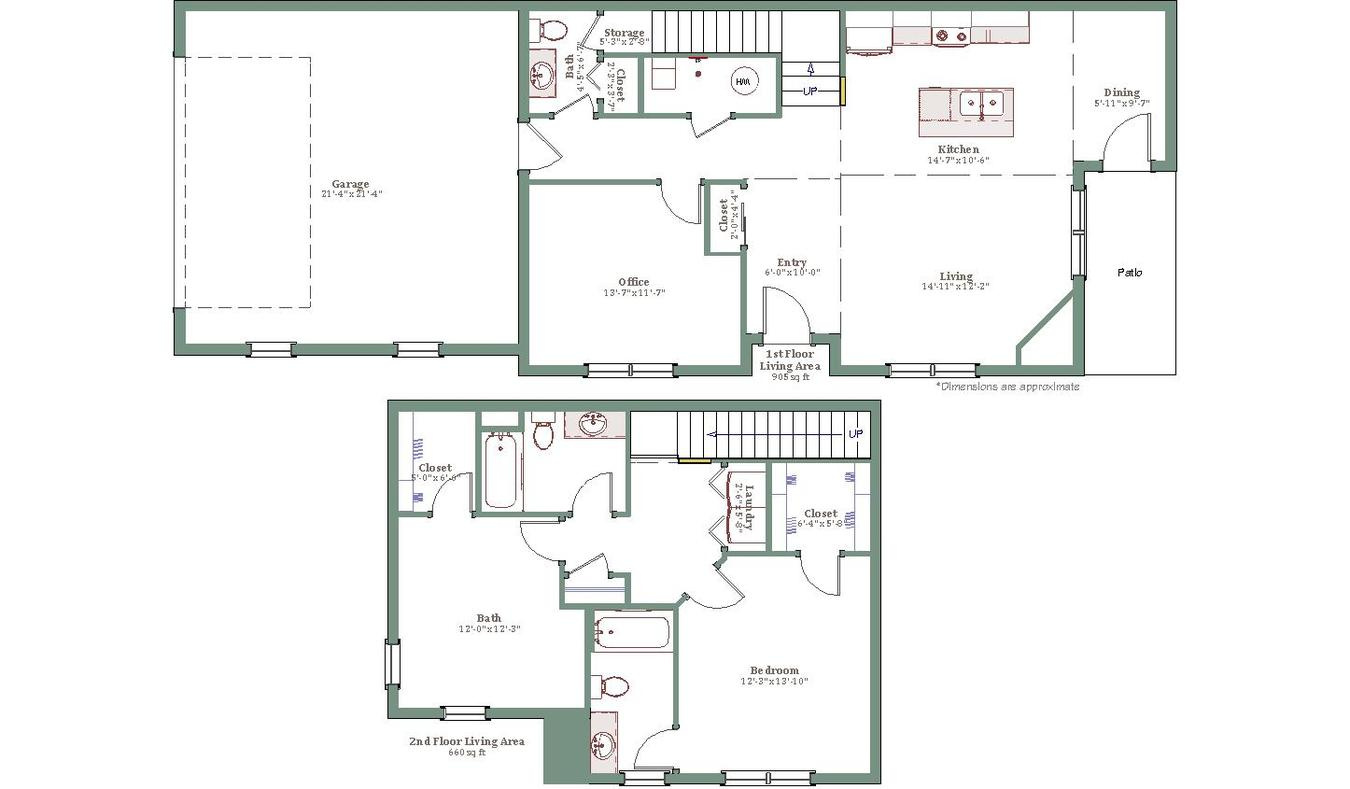 2 Bedrooms 2 Bathrooms Apartment for rent at Overlook Luxury Townhomes in Waukesha, WI