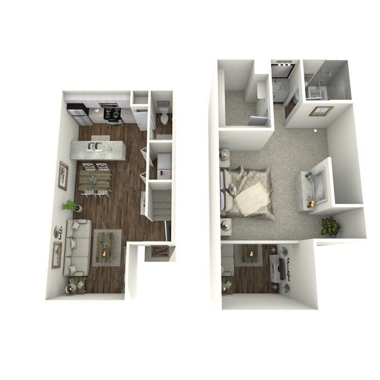 1 Bedroom 1 Bathroom Apartment for rent at Village Westchase in Houston, TX