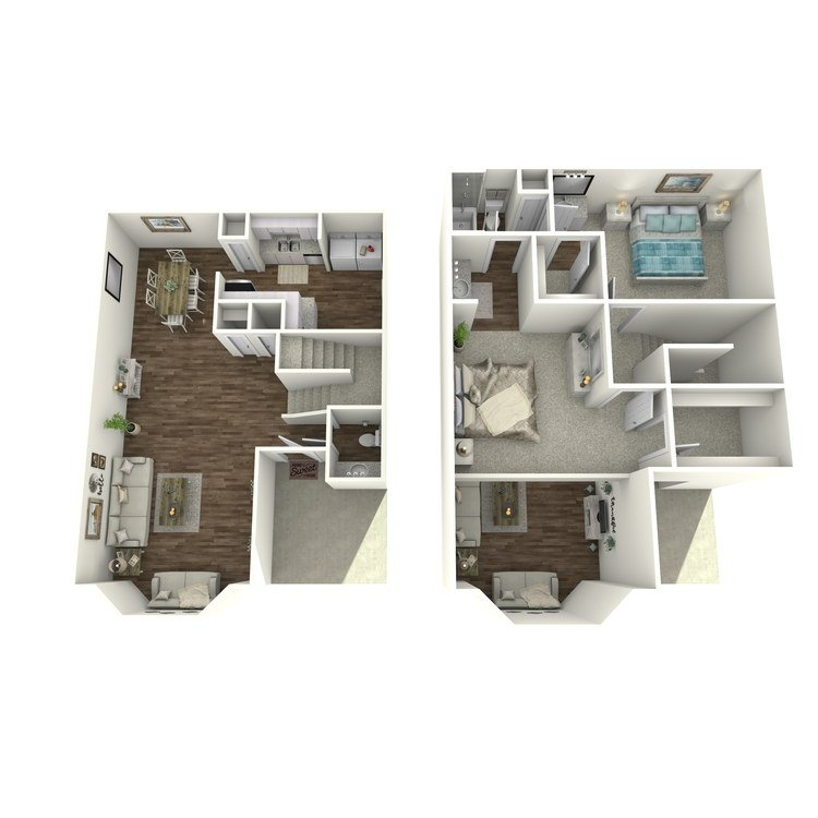 2 Bedrooms 1 Bathroom Apartment for rent at Village Westchase in Houston, TX