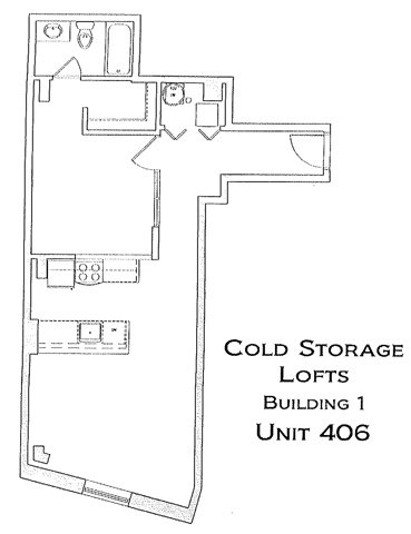1 Bedroom 1 Bathroom Apartment for rent at Cold Storage I in Richmond, VA