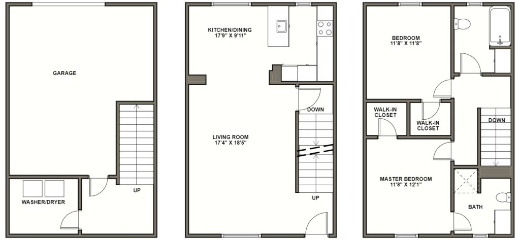 2 Bedrooms 2 Bathrooms Apartment for rent at Reserve At Summerset in Pittsburgh, PA