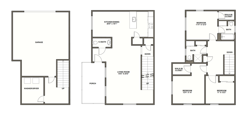3 Bedrooms 2 Bathrooms Apartment for rent at Reserve At Summerset in Pittsburgh, PA
