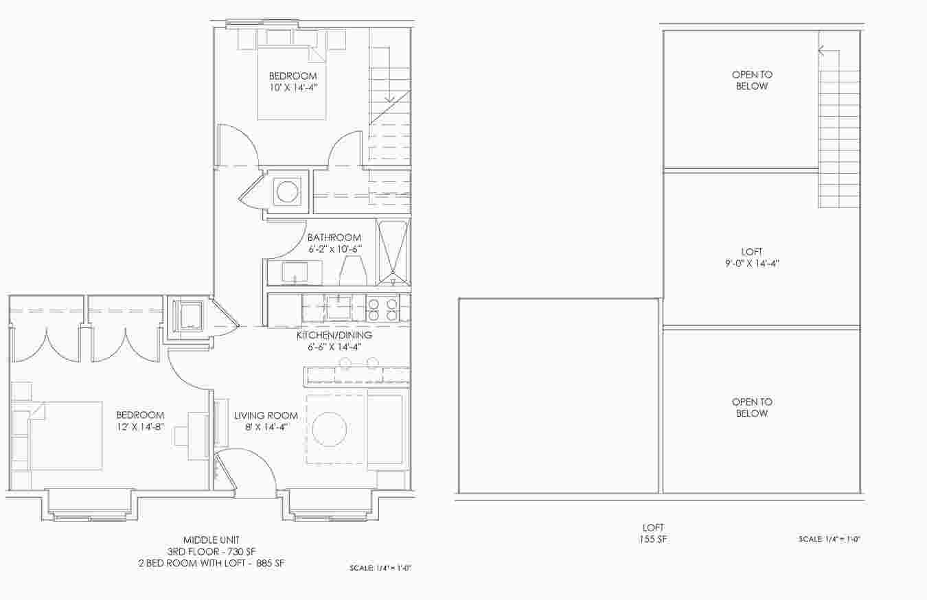 2 Bedrooms 1 Bathroom Apartment for rent at Summerhouse At Indiana in Bloomington, IN