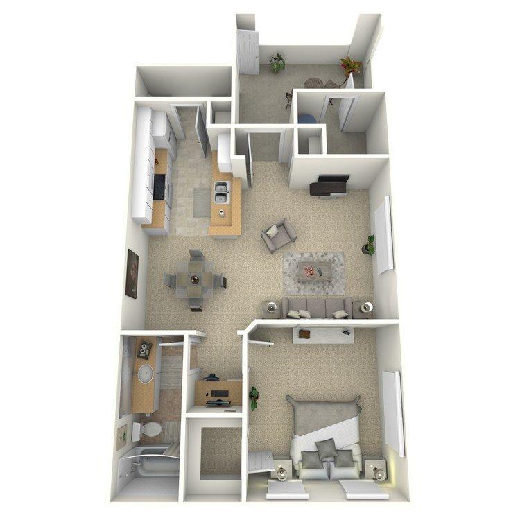 1 Bedroom 1 Bathroom Apartment for rent at Portofino in San Diego, CA