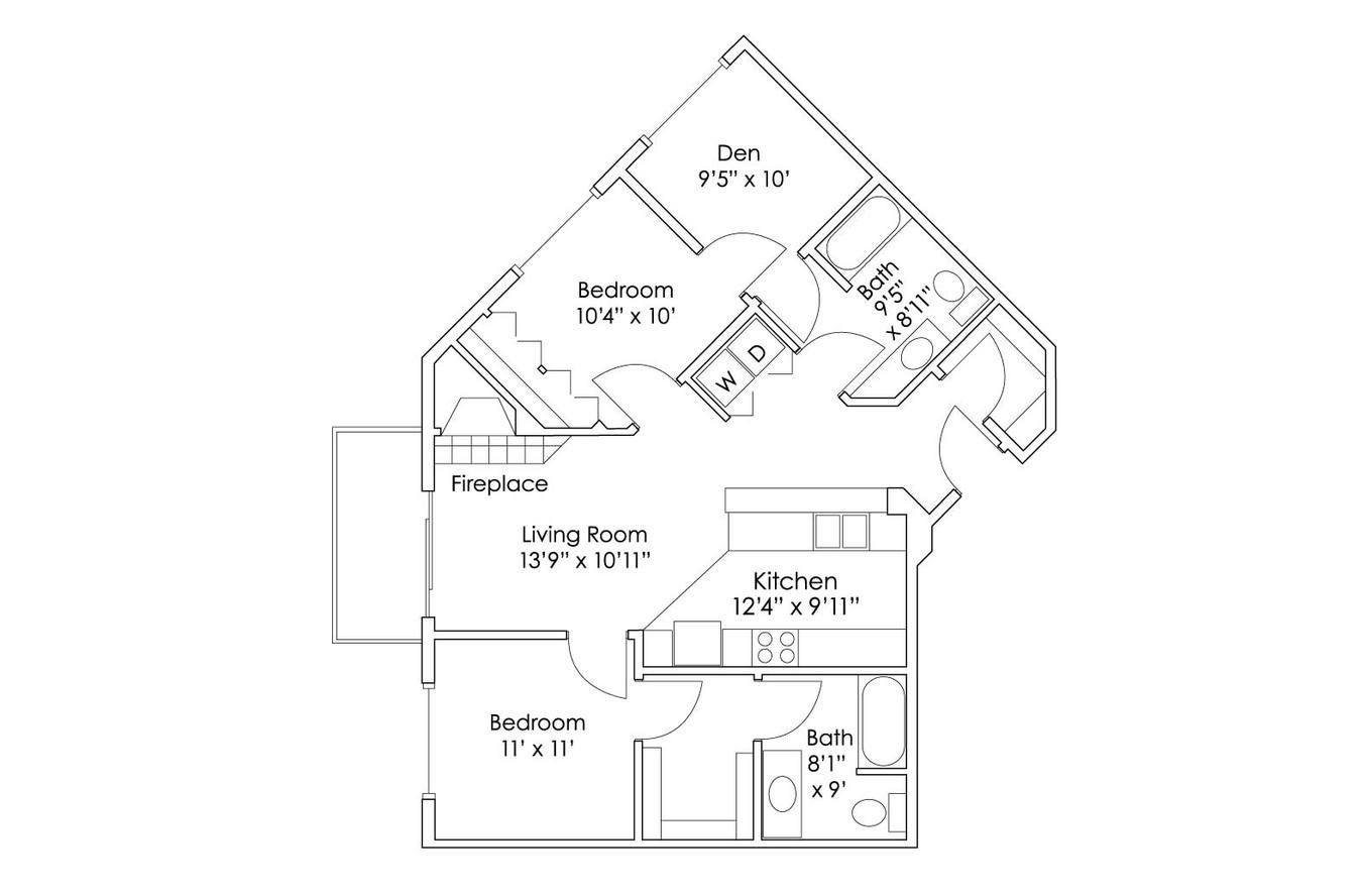 2 Bedrooms 2 Bathrooms Apartment for rent at Grand Gateway Apartment Homes in St Cloud, MN