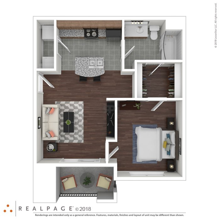 1 Bedroom 1 Bathroom Apartment for rent at Oakville in Austin, TX