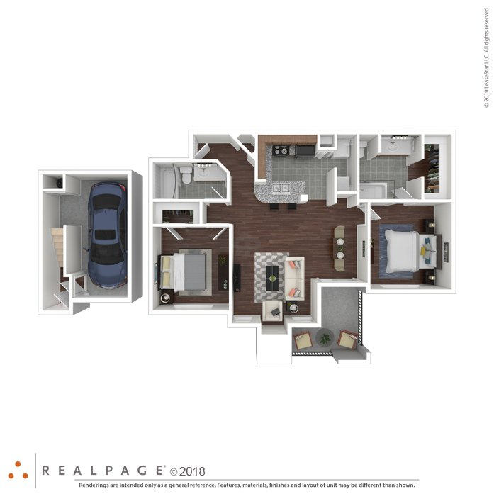 2 Bedrooms 2 Bathrooms Apartment for rent at Oakville in Austin, TX