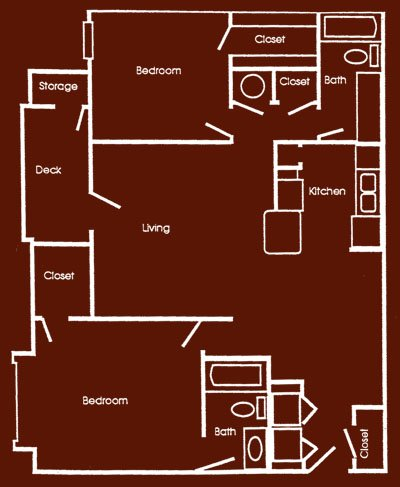 2 Bedrooms 2 Bathrooms Apartment for rent at The Hill in Columbia, MO