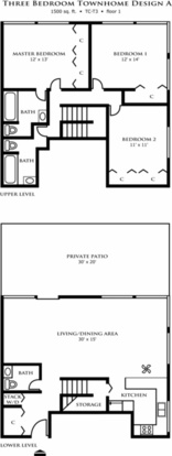 3 Bedrooms 3 Bathrooms Apartment for rent at Riley Towers in Indianapolis, IN