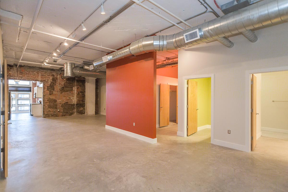 Studio 2 Bathrooms Apartment for rent at Cold Storage Lofts in Kansas City, MO