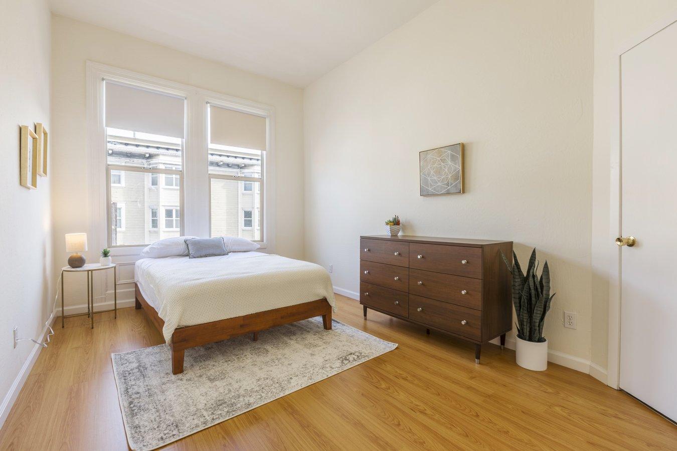 1 Bedroom 1 Bathroom House for rent at Oak St & Fillmore St Coliving in San Francisco, CA