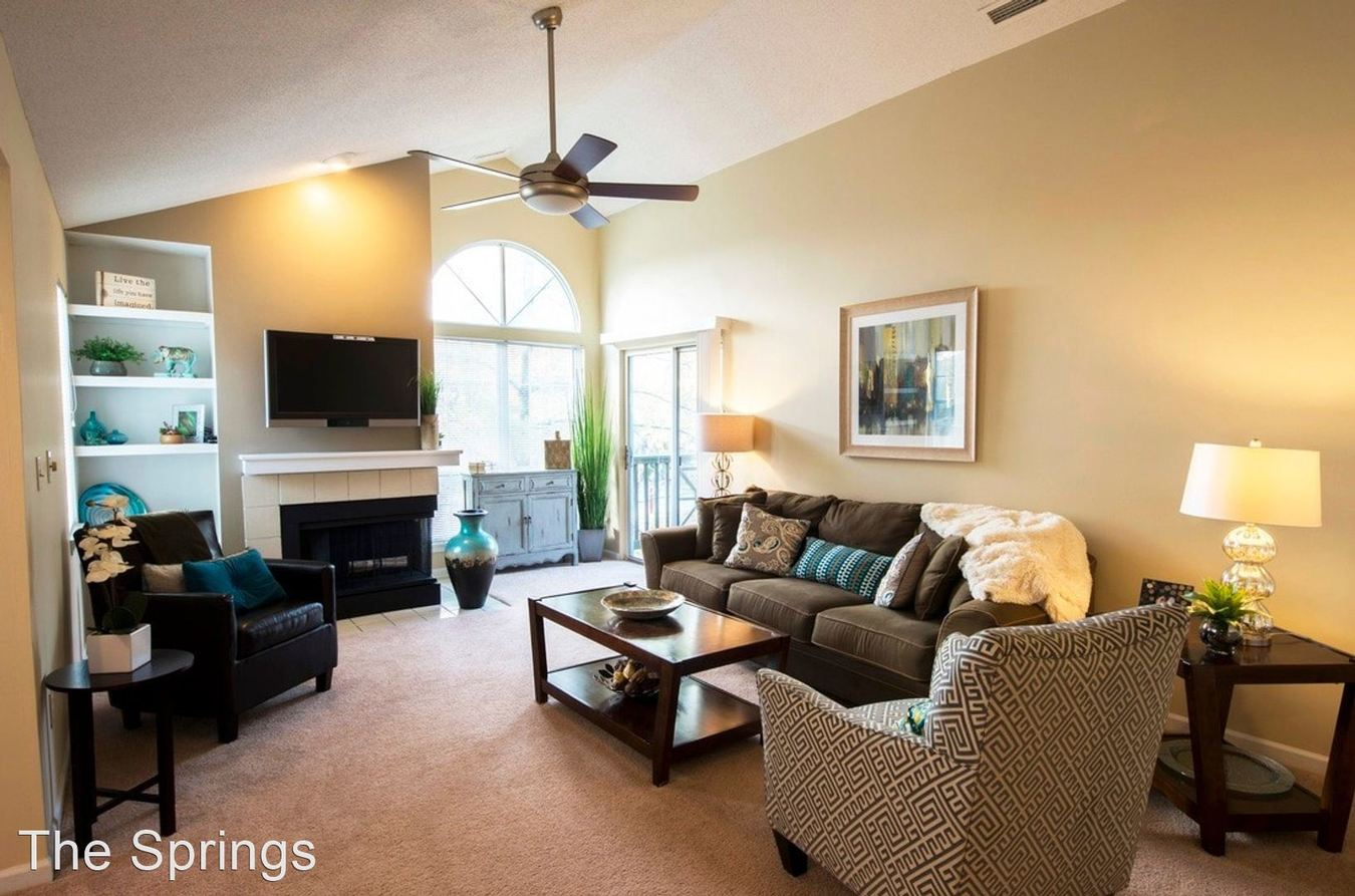 2 Bedrooms 2 Bathrooms Apartment for rent at The Springs in Indianapolis, IN