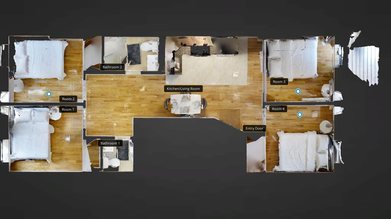 1 Bedroom 1 Bathroom Apartment for rent at Private Room In Multi-bedroom Upper Manhattan Coliving, Flexible Lease Length in New York, NY