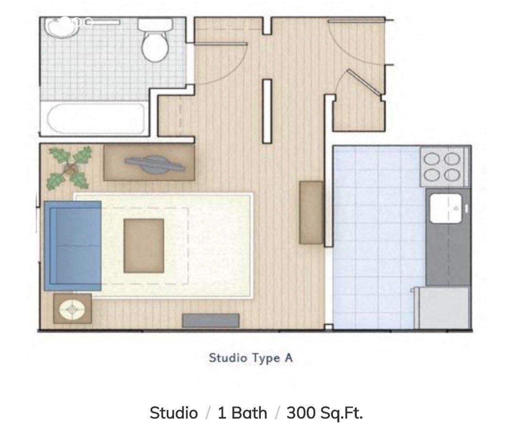 Studio 1 Bathroom Apartment for rent at Allegheny Apartments in Philadelphia, PA