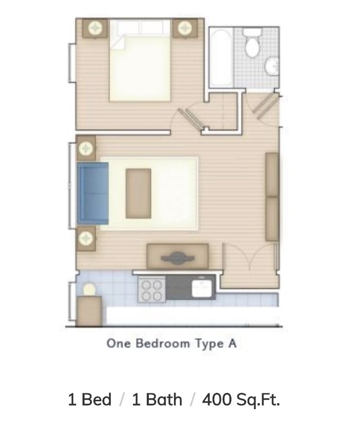 1 Bedroom 1 Bathroom Apartment for rent at Allegheny Apartments in Philadelphia, PA