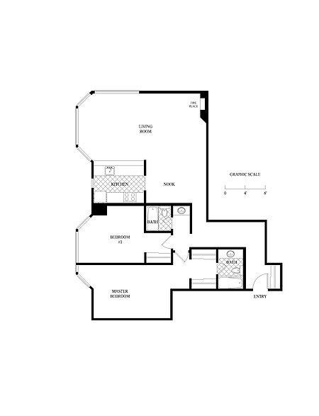 2 Bedrooms 2 Bathrooms Apartment for rent at Grosvenor Atrium in San Francisco, CA