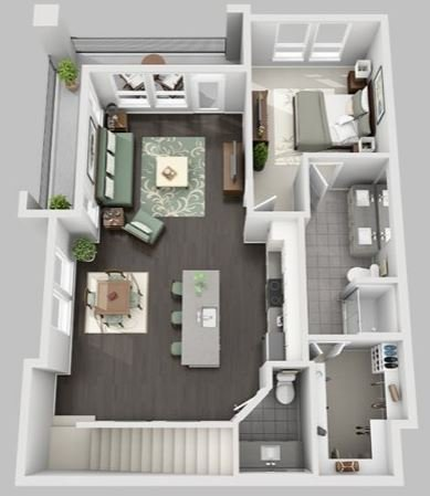 3 Bedrooms 2 Bathrooms Apartment for rent at Bell Steiner Ranch in Austin, TX